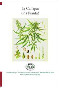 Libro La canapa: una pianta! Giancarlo Cecconi