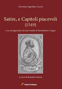 Libro Satire, et capitoli piacevoli (1549) Giovanni A. Caccia
