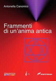 Frammenti di un'anima antica - Antonella Canonico - copertina