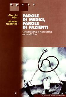 Scacciamoli.it Parole di medici, parole di pazienti. Counselling e narrativa in medicina Image