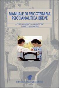 Libro Manuale di psicoterapia psicoanalitica breve