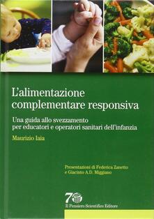 Squillogame.it L' alimentazione complementare responsiva. Una guida allo svezzamento per educatori e operatori sanitari dell'infanzia Image
