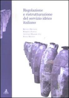 Regolazione e ristrutturazione del servizio idrico italiano - Renato Drusiani - copertina