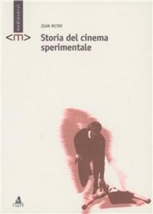 Storia del cinema sperimentale - Jean Mitry - copertina