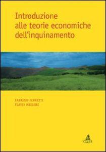 Introduzione alle teorie economiche dell'inquinamento