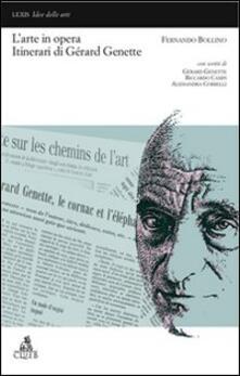 L' arte in opera. Itinerari di Gérard Genette - Fernando Bollino - copertina