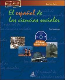 En este pais. El espanol de las ciencias sociales. Con CD-ROM - Félix San Vicente - copertina