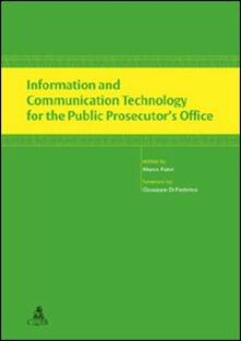 Information and communication Technology for the public prosecutor's office - copertina