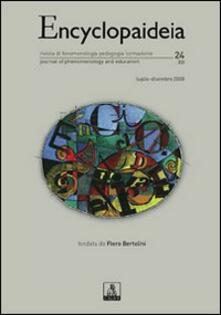 Encyclopaideia. Rivista di fenomenologia, pedagogia, formazione. Vol. 24 - copertina