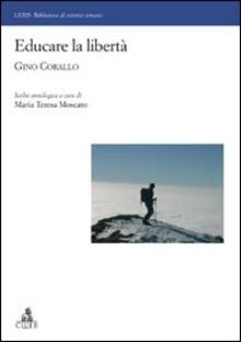 Educare la libertà. Gino Corallo - copertina