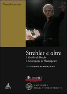Winniearcher.com Strehler e oltre. Il «Galileo» di Brecht e la «Tempesta» di Shakespeare Image