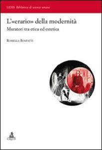 L' «erario» della modernità. Muratori tra etica ed estetica