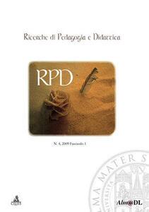 Ricerche di pedagogia e didattica (2009). Vol. 4
