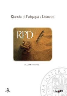 Ricerche di pedagogia e didattica (2010) - copertina