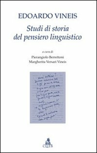 Libro Studi di storia del pensiero linguistico Edoardo Vineis
