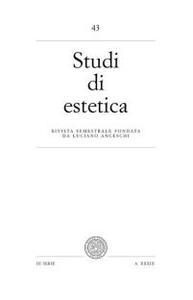 Studi di estetica. Vol. 43