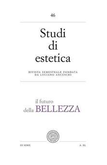 Studi di estetica. Vol. 46: Il futuro della bellezza. - Simona Chiodo - copertina