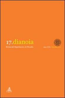 Dianoia. Annali di storia della filosofia. Vol. 17 - copertina