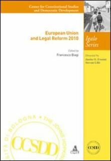 European Union and legal reform 2010 - Francesco Biagi - copertina