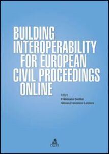 Building interoperability for european civil proceedings online
