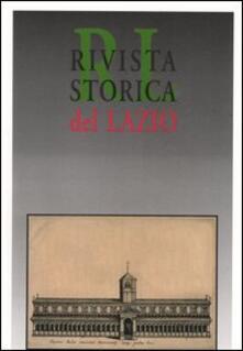Daddyswing.es Rivista storica del Lazio. Vol. 10 Image