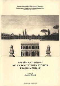 Libro Presìdi antisismici nell'architettura storica e monumentale Angela Marino