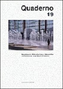 Quaderno del Dipartimento di architettura e urbanistica dell'Università degli studi di Catania. Vol. 19