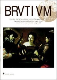 Brutium. Rivista quadrimestrale d'arte (2000). Vol. 1 - copertina