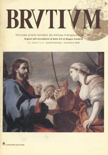 Brutium. Rivista quadrimestrale d'arte (2001). Vol. 3 - copertina