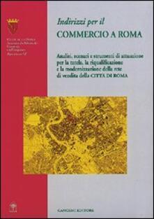 Indirizzi per il commercio a Roma - copertina