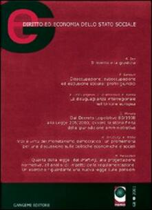 GE. Diritto ed economia dello Stato sociale (2001). Vol. 1 - copertina