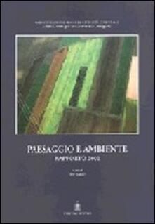 Paesaggio e ambiente. Rapporto 2000 - Pio Baldi - copertina