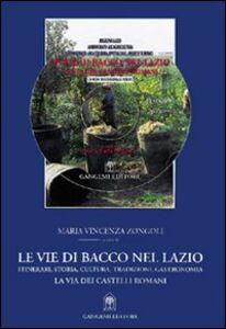 Le vie di Bacco nel Lazio. Itinerari, storia, cultura, tradizioni, gastronomia. La via dei Castelli Romani