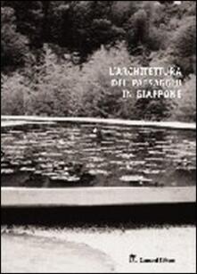 L' architettura del paesaggio in Giappone - Alessandro Villari - copertina