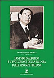 Ernesto D'Albergo e l'evoluzione della scienza delle finanze italiana