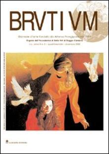 Brutium. Rivista quadrimestrale d'arte (2002). Vol. 3 - Alessandro Manganaro,Maria Froncillo - copertina