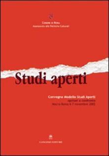 Studi aperti. La tentazione di esistere - Silvana Maja - copertina