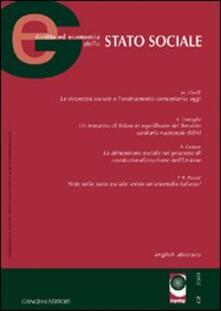 GE. Diritto ed economia dello Stato sociale (2003). Vol. 6 - copertina