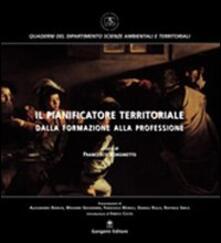 Il pianificatore territoriale dalla formazione alla professione - Francesco Bonsinetto - copertina