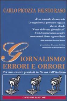 Giornalismo. Errori e orrori. Per non essere piantati in Nasso dallitaliano.pdf