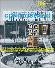Controspazio (2003). Vol. 106 - Marcello Fabbri - copertina