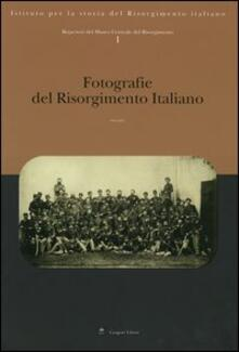 Repertori del Museo Centrale del Risorgimento. Vol. 1: Fotografie del Risorgimento italiano. - copertina