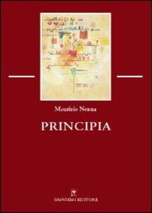 Libro Principia Maurizio Nenna
