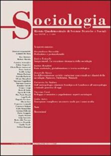 Sociologia. Rivista quadrimestrale di scienze storiche e sociali (2004). Vol. 2 - copertina
