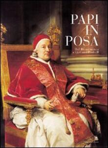 Papi in posa. Dal Rinascimento a Giovanni Paolo II. Catalogo della mostra - copertina