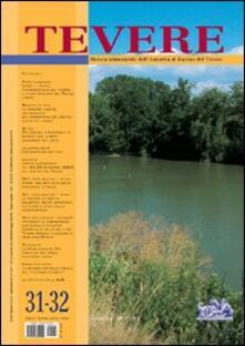 Tevere. Vol. 31-32 - copertina