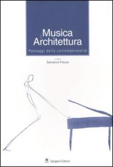 Musica & architettura. Paesaggi della contemporaneità - copertina