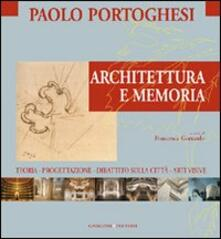Architettura e memoria - copertina