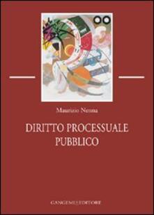Diritto processuale pubblico - Maurizio Nenna - copertina