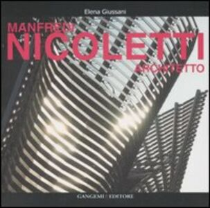 Libro Manfredi Nicoletti architetto Elena Giussani
